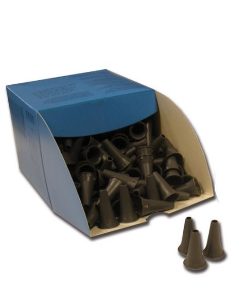 Øretuber til otoskop, engangs, 2,5mm (250 stk)