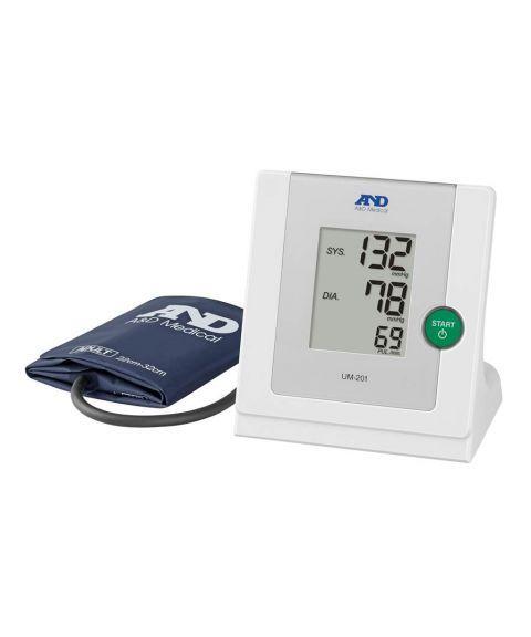 AND UM-201 profesjonell blodtrykksmåler, bærbar, automatisk