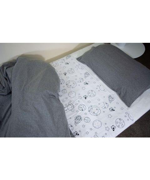 Brolly Sheets madrassbeskytter for sengevæting, verdensrommet