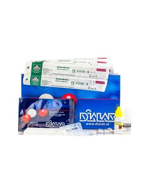 Dialab Chlamydia, kassett (20 stk)