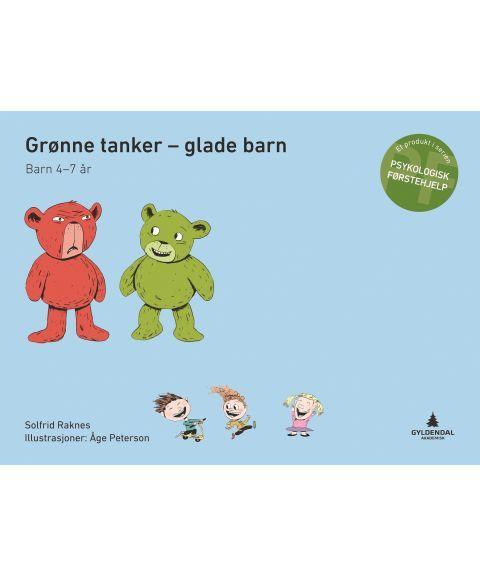 Grønne tanker - glade barn, 4-7 år (komplett pakke)