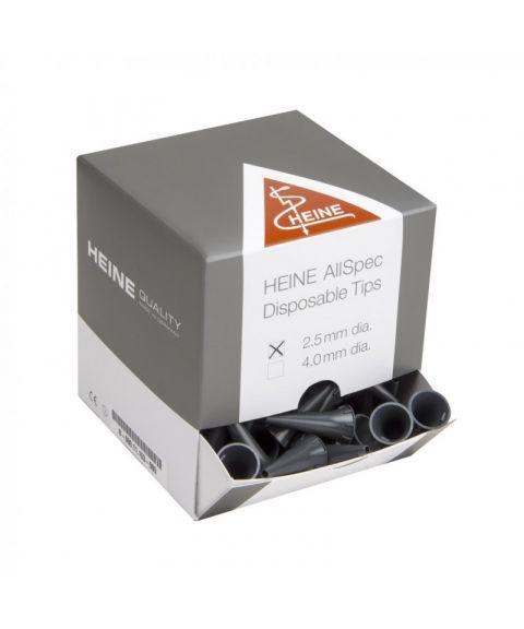 Heine AllSpec øretuber til otoskop 4mm (250 stk)