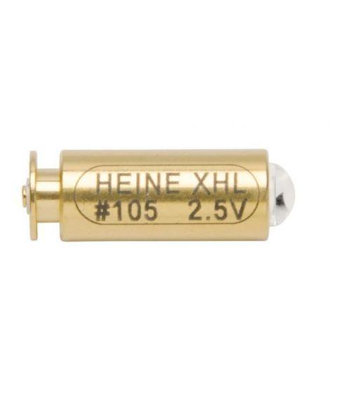 XHL pære til Heine mini 3000 fiberotoskop, 2,5V