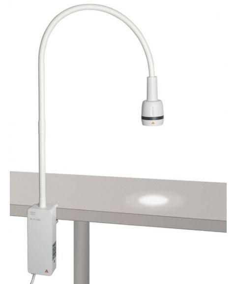 Heine EL3 LED US-lampe med bordklemme