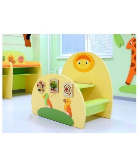 Lokki tegnebord med integrerte leker