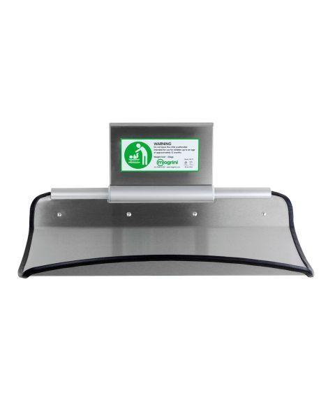 Magrini stellebord for offentlig bruk, rustfritt stål