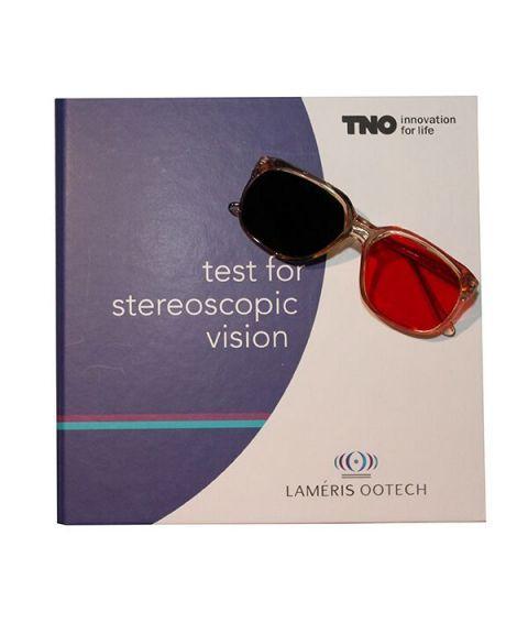 TNO stereotest med brille for barn