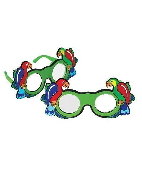 Good-Lite Papegøye okluder briller, frostet (2 stk)