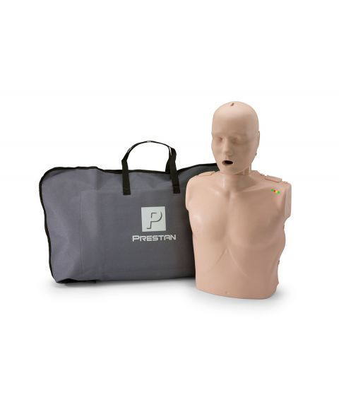 Prestan førstehjelpsdukke med HLR-monitor - voksen