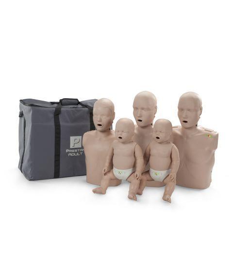 Prestan førstehjelpsdukker - 5 i familien.